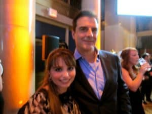 Chris Noth and Haley Moss