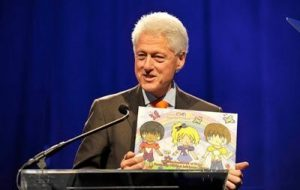 Haley Moss _ Bill Clinton