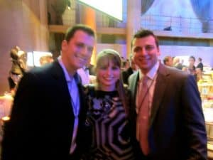 Albie Manzo, Haley Moss and Chris Manzo