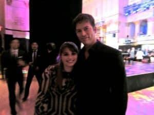 Harry Connick Jr. and Haley Moss