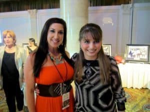 Jacqueline Laurita and Haley Moss