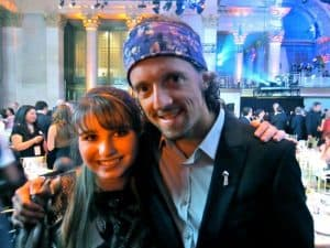 Jason Mraz and Haley Moss