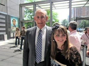 Stephen Ross and Haley Moss