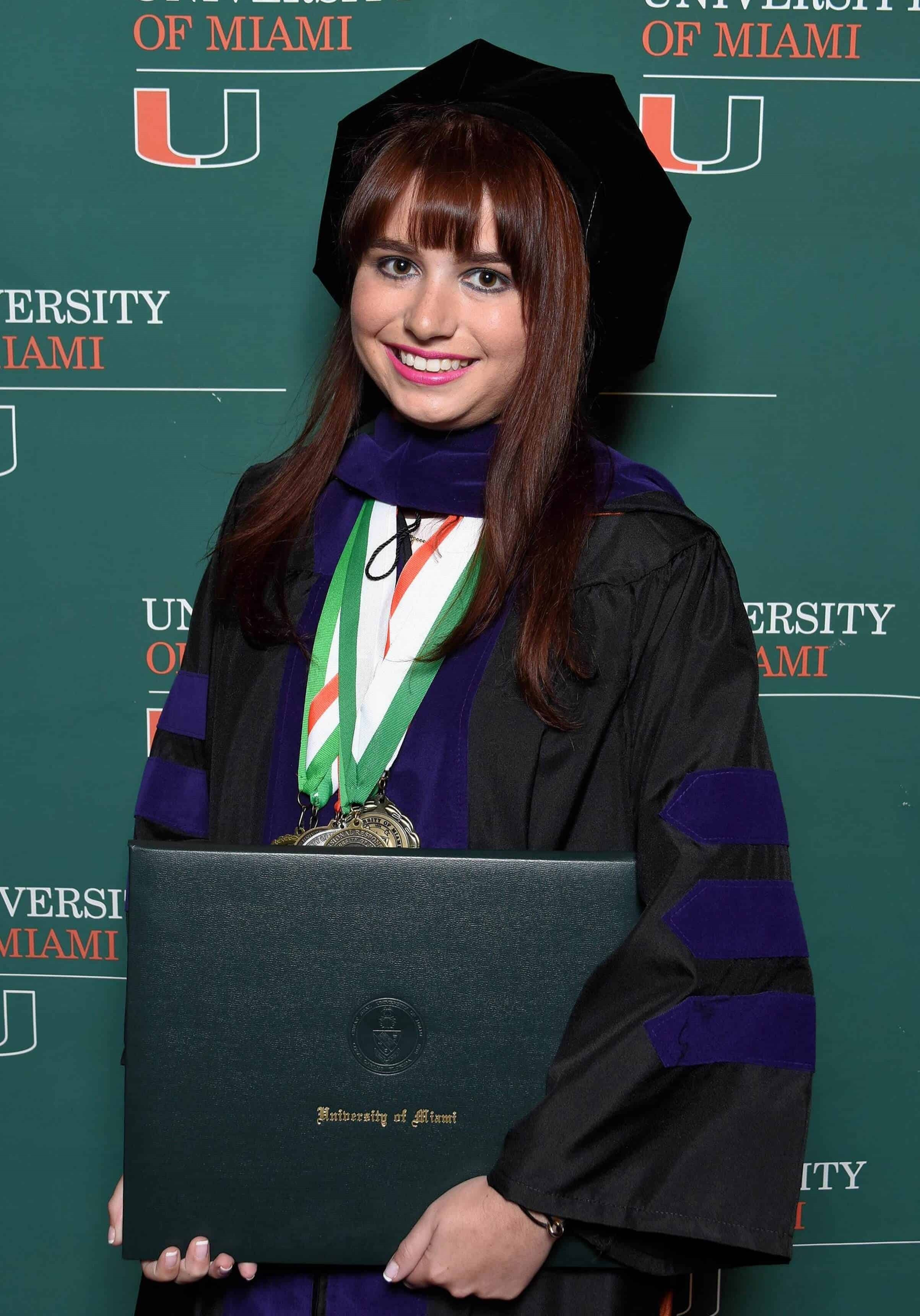 Haley Moss Graduate